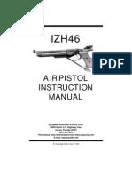 Air Pistol Instruction Manual