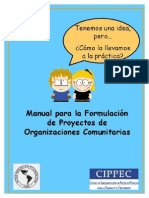 Manual Proyectos Sociales