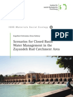 Scenarios for Closed Basin Water Management in the Zayandeh Rud Catchment Area