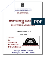 Maintenance Handbook on Lightening Arrester