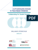 The Role of Community Schools in Place-Based InitiativesFINAL1
