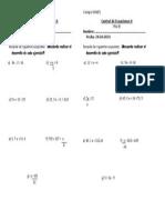 Control Ecuaciones II