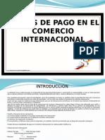 Medios de Pago Comercio Internacional