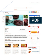 Dulceata de Prune - Culinar