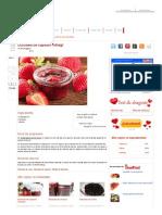 Dulceata de Capsuni Intregi - Culinar