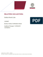 Relat Rio de Auditoria Gr Fica Romiti 12-08-2012 Nbr 14790