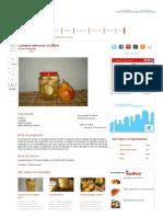 Compot Delicios Cu Pere - Culinar