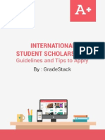 International Student Scholarship Programs