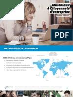 Milléniaux and Citoyenneté d'entreprise | INFOPRESSE, 25 Mars 2015