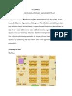 classroom organization and management plan