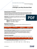ASTM A633 Gr E Data Sheet 2012 04 01