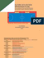 Pengelompokan Form Data Statistik Futsal