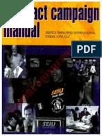 SEIU Contract Campaign Manual