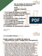 Ustm, Gestão Logistica Qualidade, Tema 2 (Gestão Da Cadeia de Abastecimento)