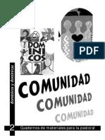 Cuaderno Comunidad