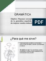 Gramática Octavo REPASO