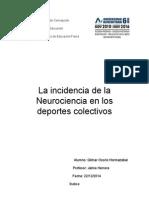 Neurociencia en Deportes Colectivos