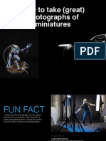 How to take photographs of miniatures