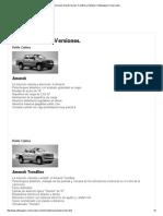 Versiones Amarok Normal, Trendline y Highline _ Volkswagen Comerciales