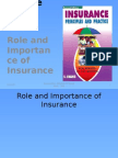 Chapter 3 [Role and Importance of Insurance]