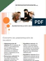 Administración de Salarios y Metodos Tradicionales de Evaluacion de Puestos