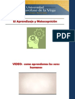 CLASE 2 El Aprendizaje y Metacognicion Ok