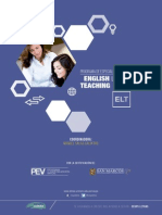 Brochure Programa de Especializacion Virtual Enseñanza Del Idioma Ingles