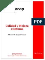 Manual Calidad y Mejora Continua GECM01
