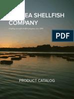 Pangea Shellfish Company Product Catalog