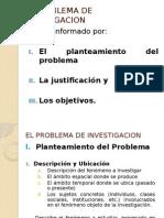 El Prolema de Investigacion -