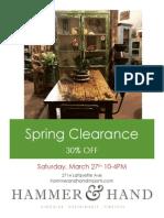 Springclearance h&h