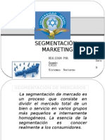 SegmentaciÓn Marketing