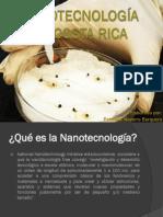 Nanotecnología en Costa Rica