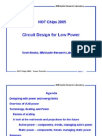 Circuit Design for Low Power-HC17.T2P1