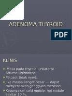 Adenoma Thyroid