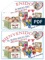 BUEN INICIO 2015 DEL AÑO ESCOLAR