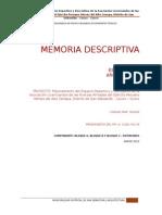 Memoria Descriptiva Proyecto Licenciados 23.03.15