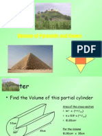 8) Volume of Pyramids and Cones