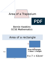 Area of a Trapezium Powerpoint