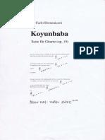 Carlo Domeniconi - Koyunbaba