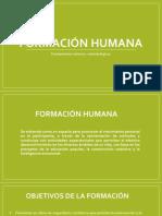 Formación Humana