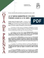 150327 NP - Presentación 37 Media Maratón de Coslada