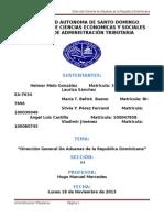 Direccion General de Aduanas (Trabajo Oficial)