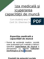 Expertiza Capacitatii de Munca-optional