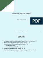 Dermaga Tipe Terbuka,Pimpro
