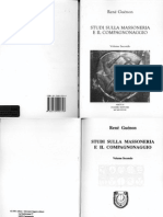 René Guénon - 1964 - Studi sulla Massoneria e il Compagnonaggio (Vol. 2)