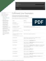 Command Line  (Windows)