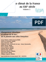 Hausse du niveau de la mer, le rapport