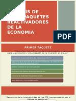 Analisis de Los Paquetes Reactivadores de La Economia Ultimo Diapo[1]