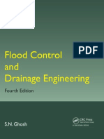 Ghosh, S.N. Flood Control and Drainage Engineering (2014)
